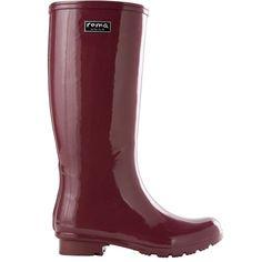 ROMA Classic Maroon Women's Rain Boots