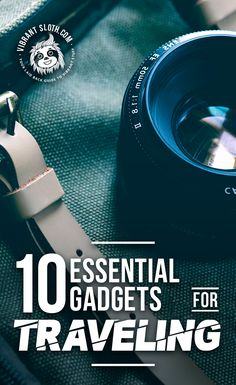 ?? Smart traveler is a happy traveler! Here�s a list of 10 essential smart travel gadgets for you explorers.  #vibrantsloth #smart #travel #trip #gadgets #voyage #traveling #travelblog #backpacking #gopro