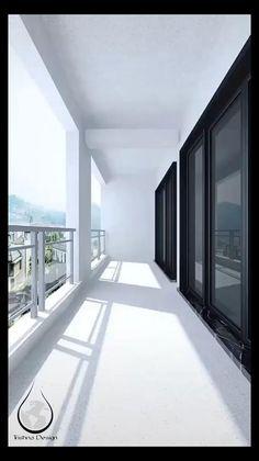 Modern Balcony, Small Balcony Design, Small Balcony Decor, Terrace Design, Small Balcony Garden, Vertical Garden Wall, Balcony Plants, Small Room Design, Plants Indoor