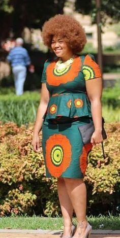 ghanaian fashion women dresses 2016 - style you 7 African Print Dresses, African Dresses For Women, African Attire, African Wear, African Fashion Dresses, African Women, African Beauty, African Prints, Ankara Fashion