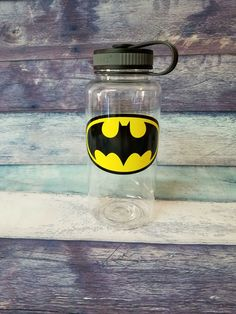 Gym Water Bottle, Large Water Bottle, Bpa Free Water Bottles, Custom Water Bottles, Batgirl, Batman, Unique Jewelry, Wonder Woman, Training