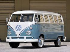 1963-67 Volkswagen T-1 Deluxe Bus van classic h wallpaper