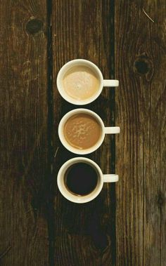 Café ...tres veces café
