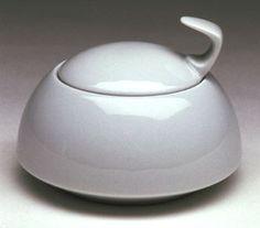 Walter Gropius, Sugar Bowl (1969)  BAUHAUS, works