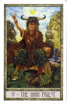 Druidcraft Tarot - 5 The Hierophant