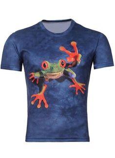 Camiseta Juvenil con Estampado en 3D Fashion - Wild Frog