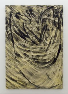 Magni Borgehed: Untitled (13 true stories series #6) 2016 190 x 130 cm Glue and ink on cotton canvas