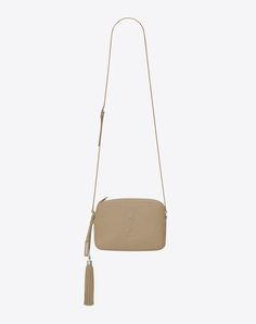 SAINT LAURENT Small Lou Camera Bag In Dark Beige Leather.  saintlaurent   bags   a9a232064b98b