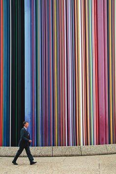 Colourful wall #modern