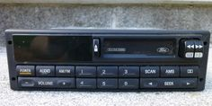 Vintage Ford Colby System Car Truck Auto Radio F6SF-19B132-AA Mexico Untested #Ford