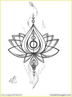Tattoo Vorlage Mit Schmetterling Und Hibiskus 7