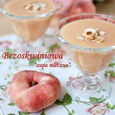 brzoskwiniowa zupa mleczna
