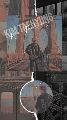 Sea Wallpaper, Tumblr Wallpaper, Iphone Wallpaper, Kim Taehyung Funny, Bts Taehyung, Taehyung Wallpaper, Aesthetic Collage, I Love Bts, Instagram Story Ideas