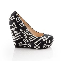 Love these Aztec Wedges!