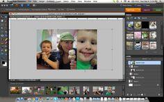 Photo Collage {Photoshop Elements Tutorial}