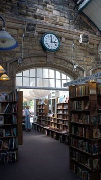 Barter Books Secondhand Book Store (located in an old train station)- Alnwick UK