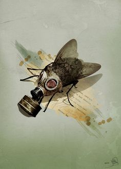 Gas mask , pretty soon we all will need......   : (