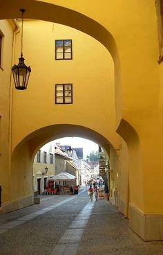 Floriánova ulica in Prešov, Slovakia