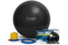 Exercise Ball - Lifetime Guarantee - Premium Quality & Anti Burst - Balance & Stability Ball To Help With Fitness Workout - Best for Pilates, Core, Tone & Ab - Free Pump & Exercises Guide Stability Exercises, Stability Ball, Wholesale Beauty Supplies, All Yoga Poses, Yoga Pilates, Yoga For Balance, Ball Chair, Thing 1, Yoga Equipment