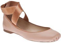CHLOÉ  Pink Rose Ballet Flat