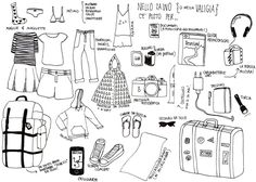 Cosa mettere in valigia? Lista valigia di base