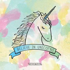 Most popular tags for this image include: unicorn, believe and magic