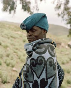 """iluvsouthernafrica: """" Lesotho: Portraits of Basotho men and women wearing likobo* by Joel Tettamanti. *(blankets - pronounced: di-ko-bo) Up to approximately 600 years ago furs, skins and even dried."""