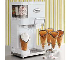 Shop Cuisinart Mix-It-In Soft Serve Ice Cream Maker ICE-45 at CHEFS. I really want this!!