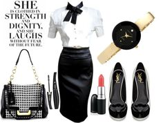 """My Style - Headmistress In Charge"" by latoyacl ❤ liked on Polyvore"