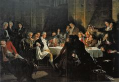 The Last Banquet of the Girondins Conciergerie Paris, Bonnet Phrygien, Banquet, First French Empire, Fernando Vii, Off With Their Heads, Time In France, French Revolution, Military Art
