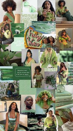 Aesthetic green wallpaper - iphone 6/7/8/plus