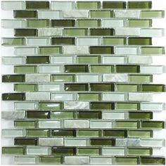 White marble mosaic tile glass mosaic kitchen backsplash tile SGMT059 FREE SHIPPING mosaic tile green glass mosaic bathroom tile