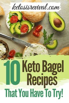 Here are some easy keto bagel recipes you must try! Get healthy bagels that are perfectly chewy, 100% keto-friendly, and tastier than anything you'll find at your local supermarket. Follow the recipes on this pin! #ketosis #ketodiet #lowcarbdiet #ketobagels #ketodietrecipe Low Carb Bagels, Keto Bagels, Low Carb Bread, Keto Bread, Healthy Bagel, Healthy Fats, Healthy Eating, Dairy Free Recipes, Low Carb Recipes