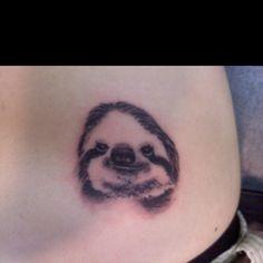 Smiling sloth tattoo! I'd add Pura Vida around it though.