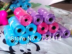 Free shipping+new 2013 Pet Dog Biodegradable Waste poop bag+10 rolls one set(15pcs/roll),pet products wholesale $9.99