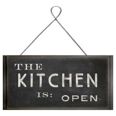 Ready-to-hang wall plaque with blackboard-inspired design. Product: Wall plaqueConstruction Material: Paper a...