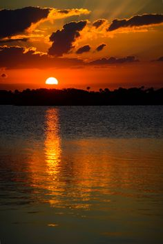 Sunset (Bethune Beach, Florida) by Jack DeBlanc