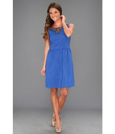 Ellen Tracy Sleeveless Kenya With Embellishment Cobalt - Zappos.com Free Shipping BOTH Ways
