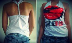 Customizando uma Camiseta do True Blood