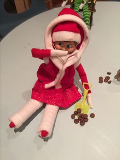 Pinterest the world s catalogue of ideas for Elf on the shelf pooping on cookies