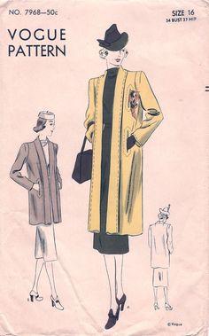 Vogue 7968 View A Please! #woman #fashion #style