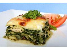 Špenátové lasagne No Salt Recipes, Spanakopita, Dinner Tonight, Gnocchi, Quiche, Healthy Recipes, Healthy Food, Food And Drink, Homemade
