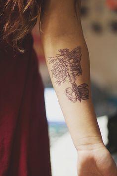 wonderful-roses:  psitskayla:  my roommate drew me a tattoo  =
