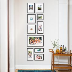 We make shopping for Gallery Walls ridiculously easy. Simply choose your favorite gallery wall layout & style, then upload your photos and checkout! Travel Gallery Wall, Gallery Wall Layout, Gallery Walls, Photo Wall Layout, Kitchen Gallery Wall, Hallway Pictures, Travel Wall Decor, Entryway Wall Decor, Room Decor