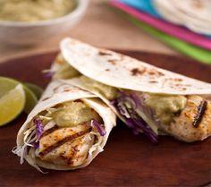 Margarita Fish Tacos