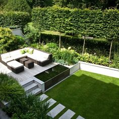 1000 ideas about jardin contemporain on pinterest back for Paysager son jardin