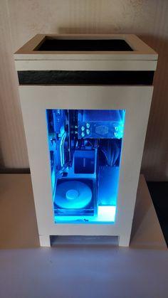 I made a unique PC case #handmade #crafts #HowTo #DIY