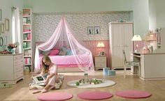 Design A Child's Room For Teen Girls - http://www.decoradvisor.net/architecture/design-a-childs-room-for-teen-girls/