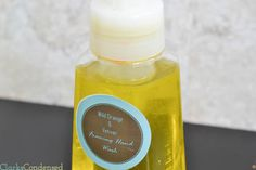 DIY Foaming Hand Soap Tutorial with essential oils