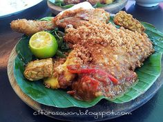 Recipes today - Ayam Penyet
